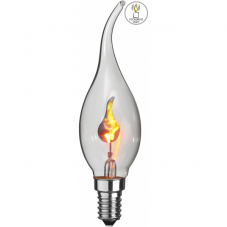 "Лампа FLICKERING FLAME LAMP Е14 LED, 115 мм, с эффектом ""пламя свечи"""