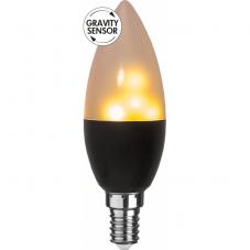 """Лампа FLAME LAMP Е14 LED, 113 мм, с эффектом """"живого огня"""", с гравитационным сенсором"""