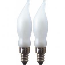 Лампочка 240 V (Вольт), 5 W (Ватт),  патрон Е10, 2 шт.