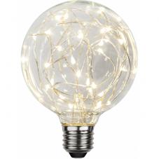 Лампа DECOLED,  Е27 LED, 138 мм, прозрачный, теплый белый