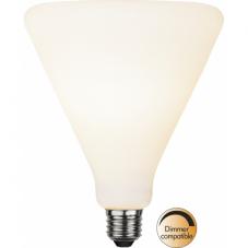 Лампа FUNKIS,  Е27 LED, 175 мм, белый, теплый белый