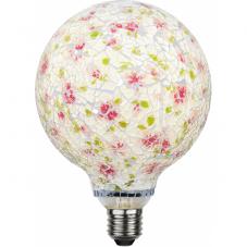 Лампа DECOLED,  Е27 LED, 180 мм, разноцветный, теплый белый