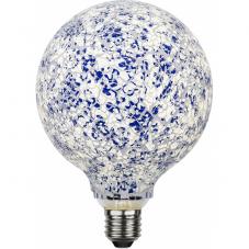Лампа DECOLED,  Е27 LED, 180 мм, белый, синий, дневной белый