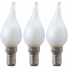 Лампочка-микро 12 V (Вольт), 0,9 W (Ватта),  патрон Е6, 3 шт.