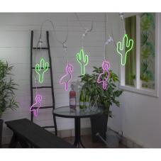 Силуэт кактус CONNECTA PARTYLIGHT, цоколь Е27, 52 см, зеленый
