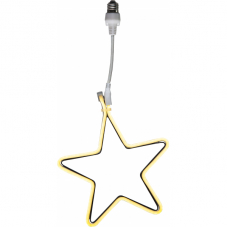 Силуэт звезда CONNECTA PARTYLIGHT, цоколь Е27, 52 см, теплый белый