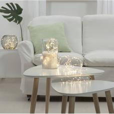 Гирлянда BUNDLE DEW DROP, 200 LED ламп, 10 шт х 200 см, дневной белый