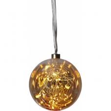 Гирлянда-шар GLOW, 15 см, стекло
