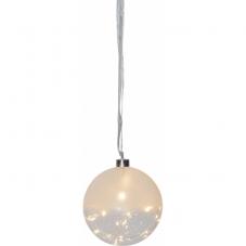 Светильник подвесной шар GLOW, 15 см, теплый белый