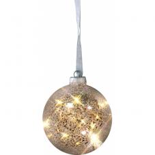 Гирлянда-шар ARGENT, 12 см, стекло