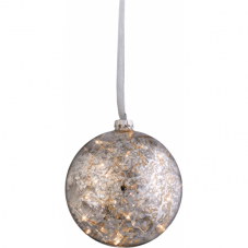 Гирлянда-шар ARGENT, 15 см, стекло