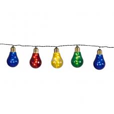 Гирлянда  GLOW 10-LIGHT, 8,6 м, разноцветный