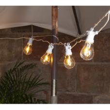 Гирлянда для улицы  CIRCUS FILAMENT, 10 ламп, 5 м, теплый белый