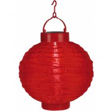 Садовый светильник Фонарь FESTIVAL  Solar energy, 22 см, красный