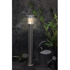 Светильник VALENCIA Solar energy для подсветки дорожек, ширина 14.5 см, высота 78 см, цвет - сталь