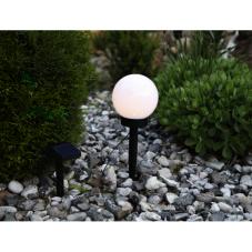 Садовый светильник GLOBUS Solar energy, диаметр 20 см, высота 35,5 см