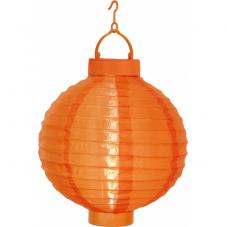 Садовый светильник Фонарь FESTIVAL  Solar energy, 22 см, оранжевый