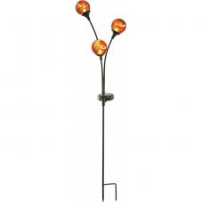 Садовый светильник TRIESTE Solar energy, 70 см, янтарный
