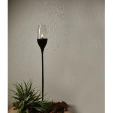 """Садовый светильник ATHENS Solar energy, """"три в одном"""", 62 см,  черный"""