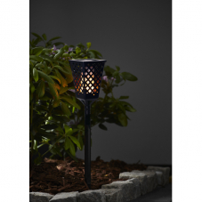 Садовый светильник FLAME Solar energy, с эффектом живого пламени, 79 см