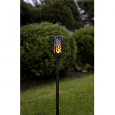 Садовый светильник FLAME Solar energy, с эффектом живого пламени, 57 см