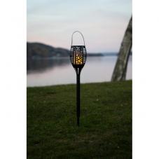 """Садовый светильник FLAME Solar energy, с эффектом живого пламени """"три в одном"""", 42 см"""