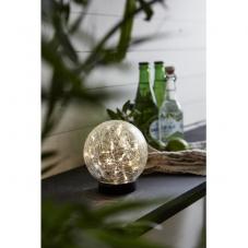 Садовый светильник GLORY Solar energy, 12 см, прозрачный