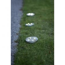 Садовые светильники LAWNLIGHT Solar energy для газона, 3 штуки, диаметр 11,5 см, стальной