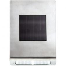 Садовый светильник WALLY Solar energy, ширина 13 см, высота 18,5 см,  цвет - стальной
