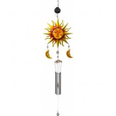 Садовый светильник на солнечных батареях WINDY Музыка ветра  Solar energy, 95 см