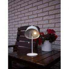 Садовый светильник CERVIA Solar energy, диаметр 17,5 см, высота 36 см,  цвет - белый