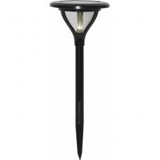 Садовый светильник MERVIA Solar energy, диаметр 16,5 см, высота 34 см,  цвет - черный