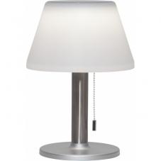 Садовый светильник SOLIA Solar energy, диаметр 20 см, высота 28 см,  цвет - белый, стальной