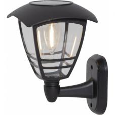 Садовый светильник FELIX Solar energy, диаметр 14 см, высота 21 см,  цвет - черный