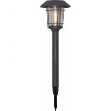 Садовый светильник FILIP Solar energy, диаметр 21 см, высота 60 см,  цвет - графит