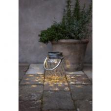 Садовый светильник PIREUS на солнечных батареях  Solar energy, высота 16 см, теплый белый