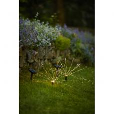 Садовый светильник FIREWORK Solar energy, 23 см
