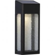 Садовый светильник WALLY Solar energy, ширина 8 см, высота 20 см,  цвет - черный