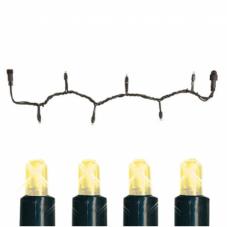 Гирлянда провод-стартовый, 50 лампочек, 5 метров, теплый желтый, серия SYSTEM EXPO