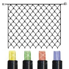 Гирлянда сетка-расширение, 2 м, разноцветная, серия SYSTEM 24