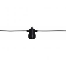 Провод-расширение LIGHTCHAIN-EXTRA, патрон Е27 х 8 штук, 4 м, серия SYSTEM 24