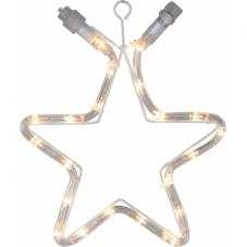 Звезда-расширение, 32 см, теплый белый, серия SYSTEM 24