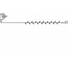 Гирлянда провод-стартовый, 10 м, дневной белый, серия SYSTEM DECOR