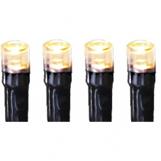 Гирлянда для улицы, 16,9 м, 120 ламп, теплый белый, черный провод, серия SERIE LED