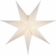 Звезда-подвес DECORUS без провода, 63 см, белый