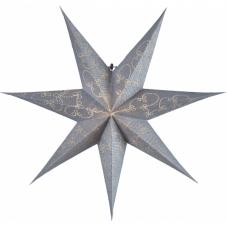 Звезда-подвес DECORUS без провода, 63 см, серебрянный