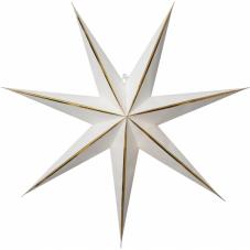 Звезда-подвес LYSA без провода, 60 см, белый с золотом