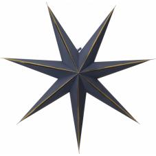 Звезда-подвес LYSA без провода, 60 см, синий с золотом