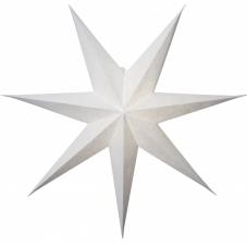 Звезда-подвес DECORUS без провода, 75 см, белый