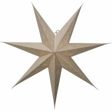 Звезда-подвес DECORUS без провода, 75 см, золотой